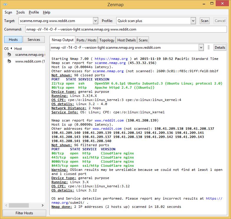 网络安全审计工具,Nmap 7 发布