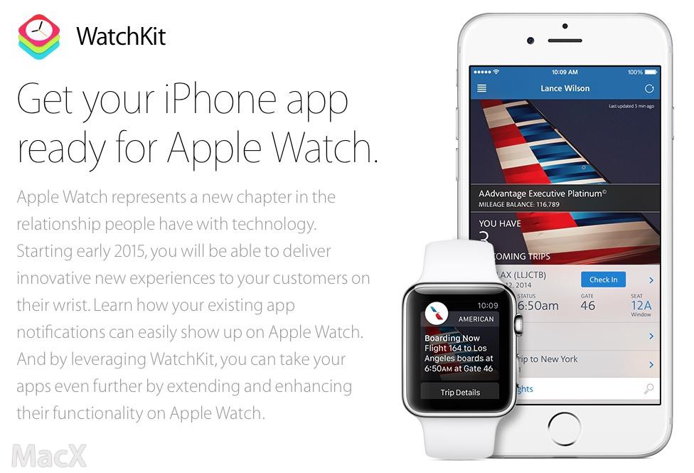 苹果发布 iOS 8.2 测试版,Apple Watch 开发工具