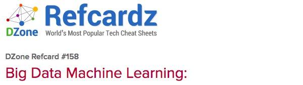 8个最好的机器学习速查表(Cheat Sheets)