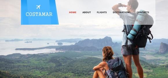 Costamar a Travel - responsive html5 templates