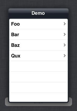 浮动 UI 的导航iOS组件 CQMFloatingController