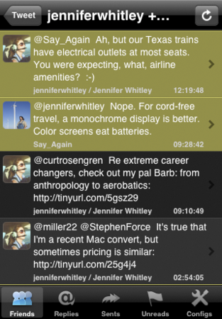 iPhone的推ter客户端 NatsuLiphone