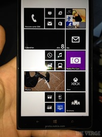 诺基亚 Lumia 1520 真机照全面曝光