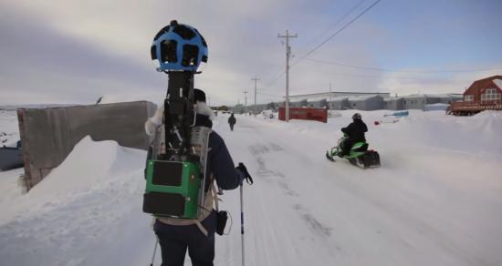 谷歌街景地图如何生成:步行记录者生活记录