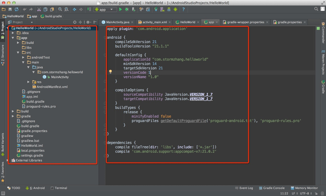 Android Studio系列教程二