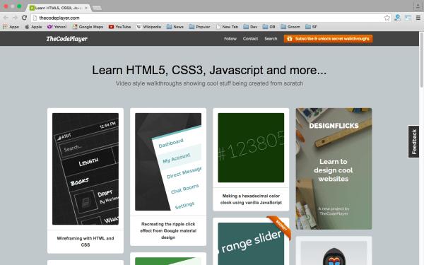 10个学习 CSS3 的在线资源