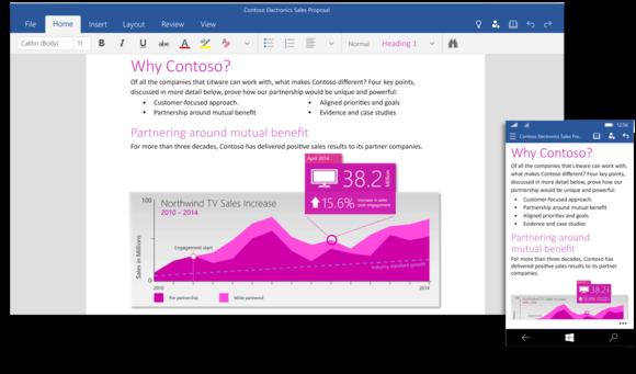 微软计划下周发布Windows 10版Office