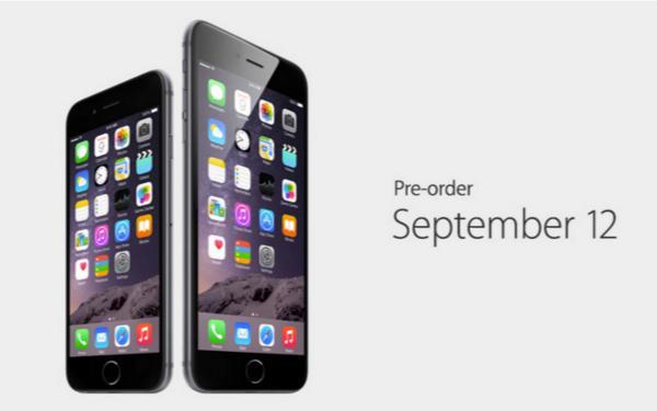 【苹果发布会】大了又大:苹果发布 iPhone 6 及 iPhone 6 Plus