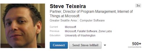"""微软成立""""物联网""""开发团队 或持续扩充中"""