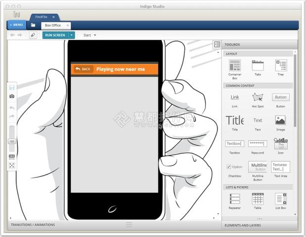 Mac和iOS应用开发工具 Indigo Studio
