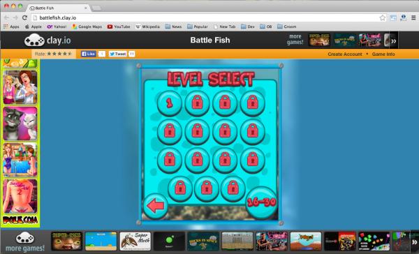 2013年12个最流行、最好的HTML5游戏