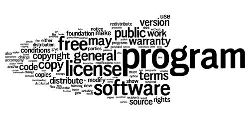 关于 GNU 软件的使用许可条款(GPL)