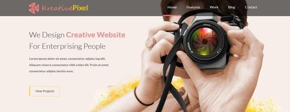 KreativePixel - html5 website templates