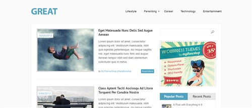 27 个免费的HTML5/CSS3模板下载