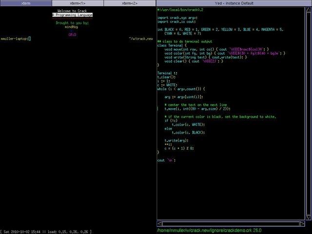 脚本编程语言 Crack