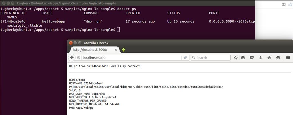 结合Docker Compose,将Nginx反向代理和负载均衡使用于ASP.NET 5应用