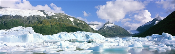 Windows 8官方主题下载:《冰川》