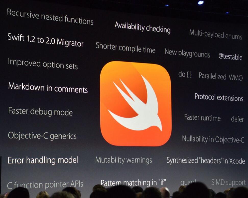 WWDC 2015大会看点总结:Swift 2.0开源支持Linux