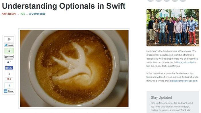 15个快速学习苹果Swift编程语言的入门教程