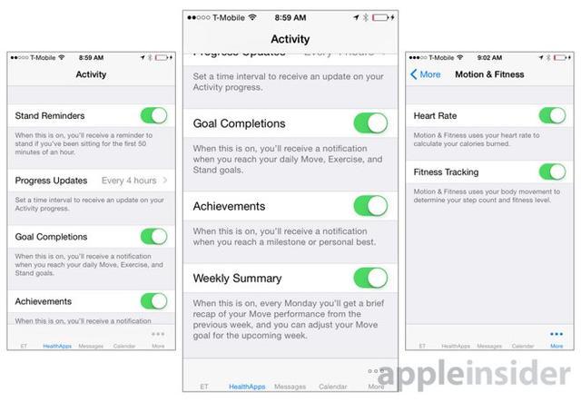 大量iOS 8.2截图曝光Apple Watch详细功能