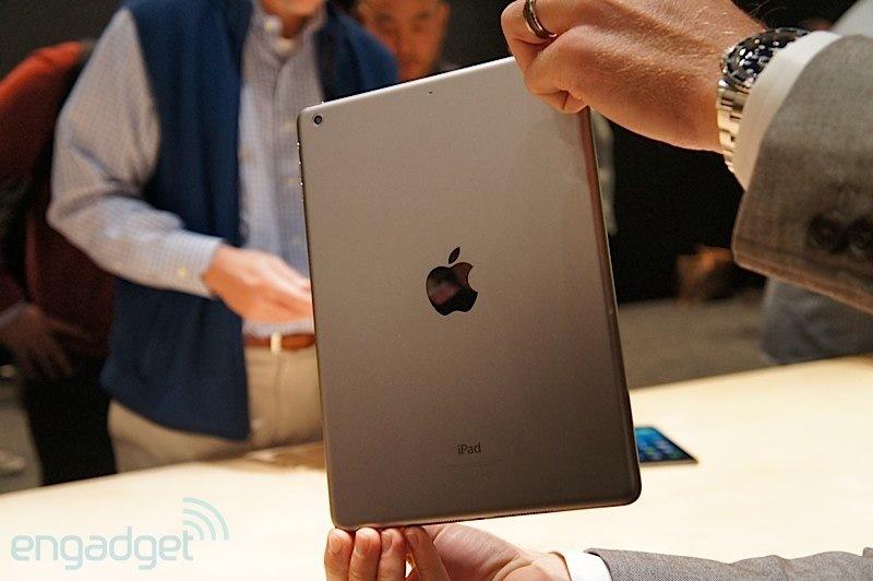 iPad Air 和 iPad mini 试玩