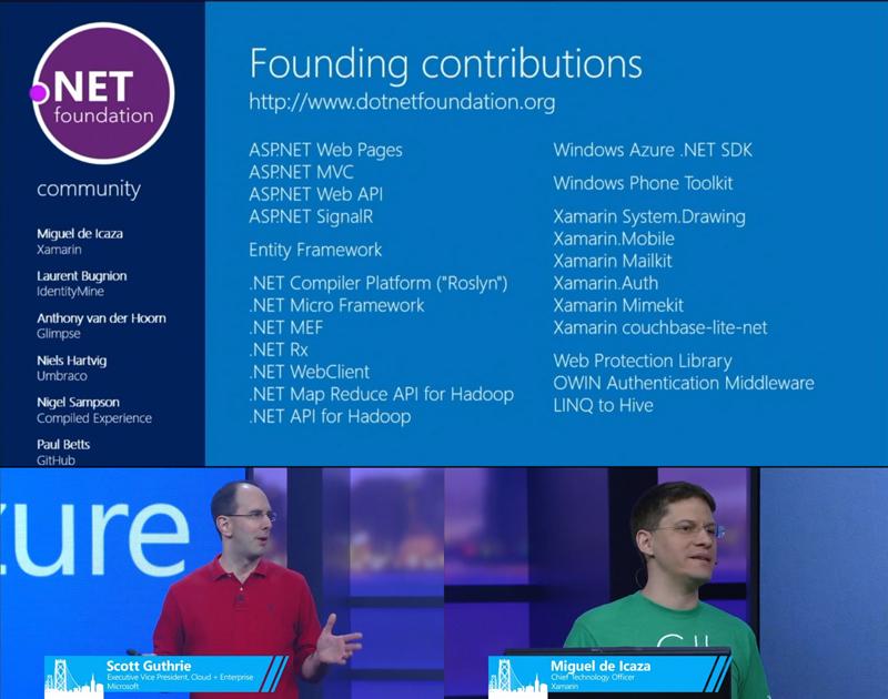 微软宣布成立.NET基金会全面支持开源项目