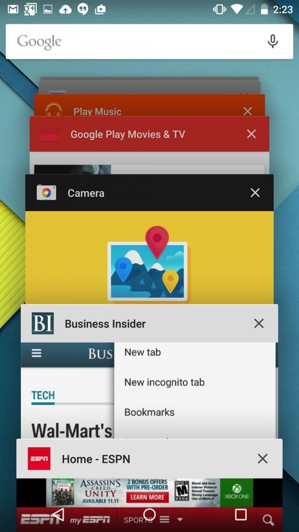尝鲜:Android 5.0 Lollipop上手实测