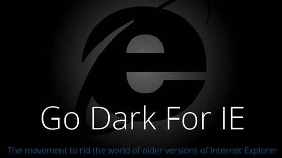 """今天你的IE被黑了吗?微软再玩""""黑色手段"""""""