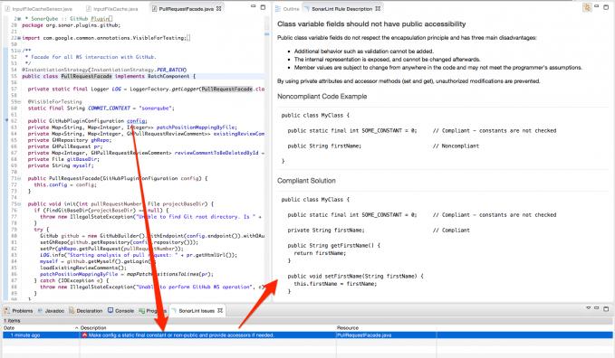 SonarLint for Eclipse 1.3 发布