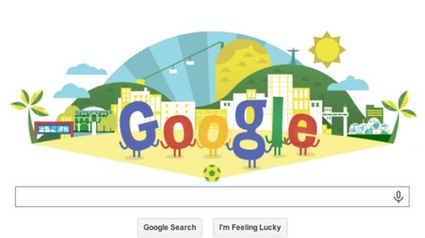 世界杯期间 这些谷歌Doodle最棒了