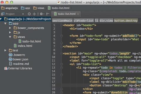 11个为Web开发者准备的编码IDE