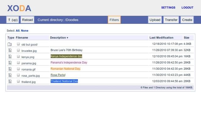 PHP 文档管理系统,XODA 0.4.2 发布
