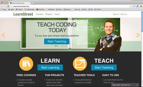 10个最流行在线学习的编码资源