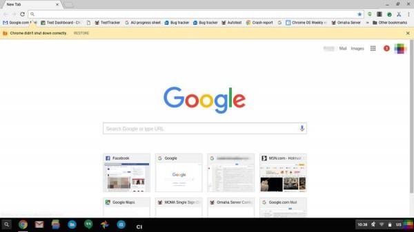 采用 Material Design 的 Chrome 会是什么样子