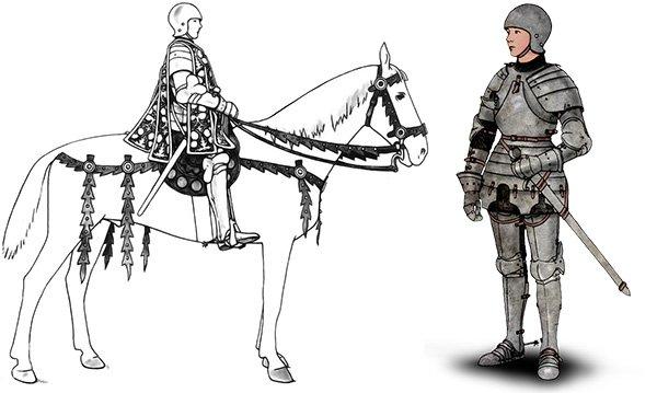 网游都是扯!中世纪女性盔甲大概是这样