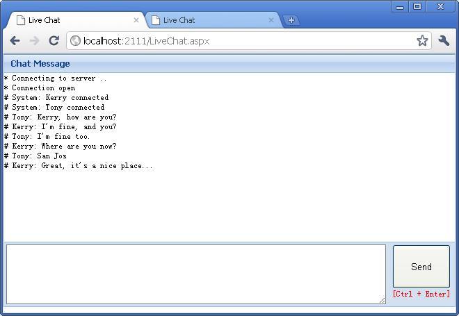 WebSocket的.NET实现 SuperWebSocket