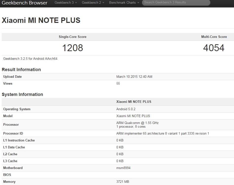 对抗苹果,小米另推Note Plus机种