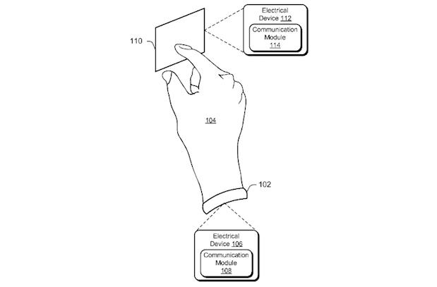 微软申请新专利,利用人体传输数据