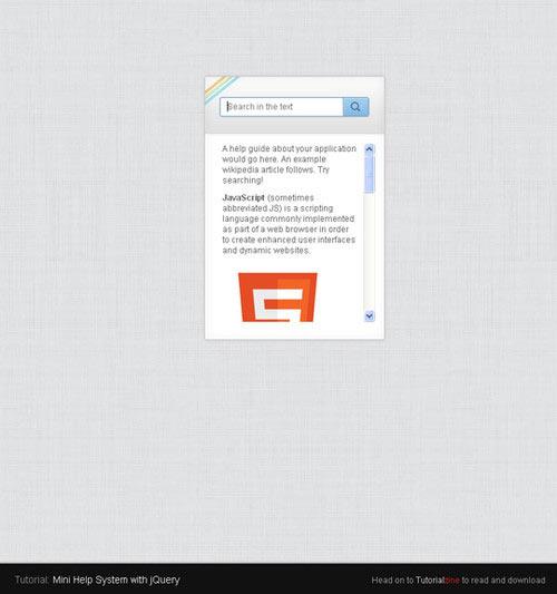 25 个实用的 HTML5, CSS3 和 jQuery 教程指南