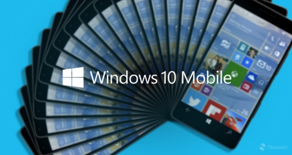 Windows 10 Mobile Build 10572发布