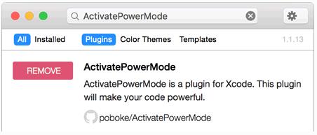 Xcode 装逼插件 ActivatePowerMode