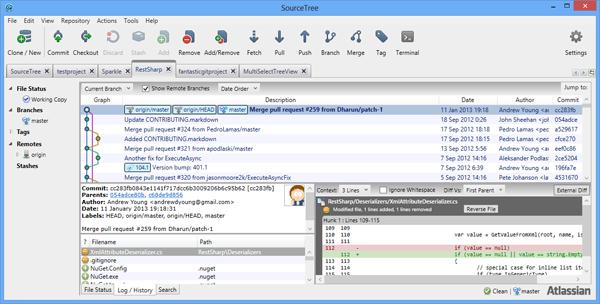 Git客户端SourceTree推出Windows版