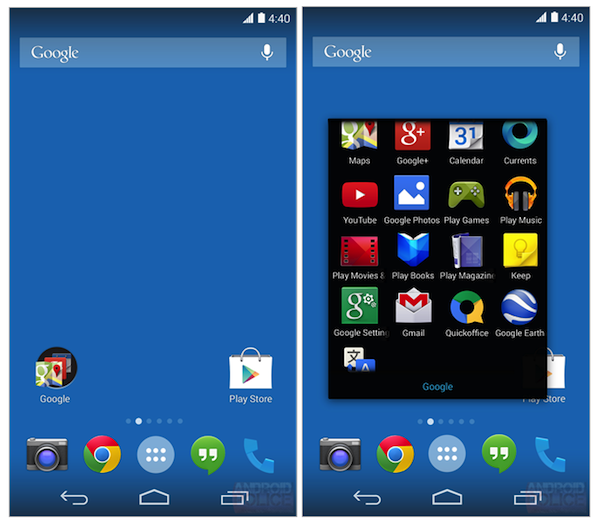 Android 4.4 KitKat:新 Launcher 的更多细节