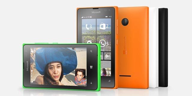 微软宣布新Lumia低端手机Lumia 435和Lumia 532