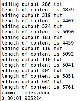 Python文本文件分割、PyLucene建立索引和索引搜索