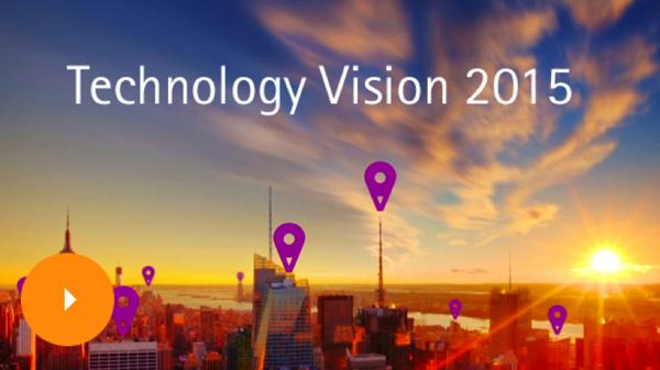 埃森哲发布 2015 年五大 IT 趋势预测