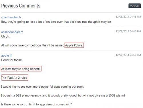 知名Android网站力荐iPad Air 2称安卓平板都不咋地