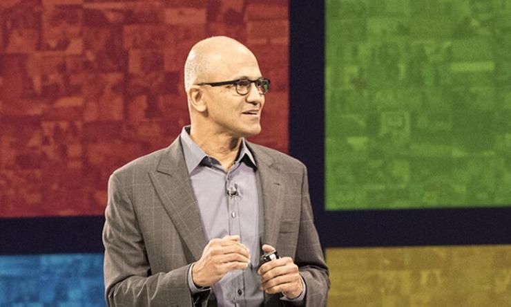 微软CEO纳德拉深访:没有Windows,哪来的Google