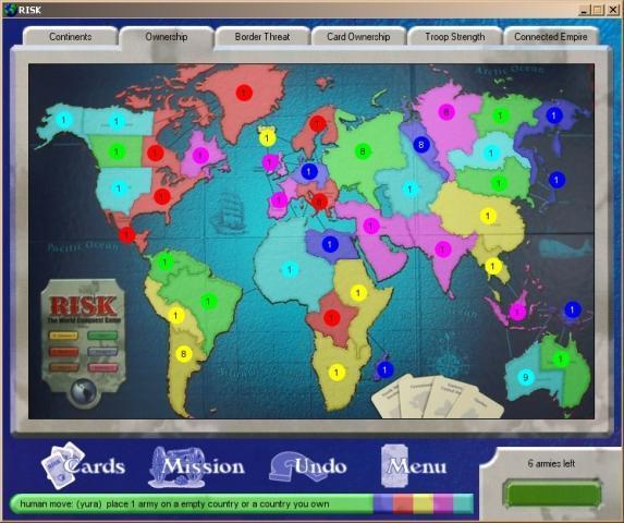 Java游戏,Risk 1.1.1.3 发布