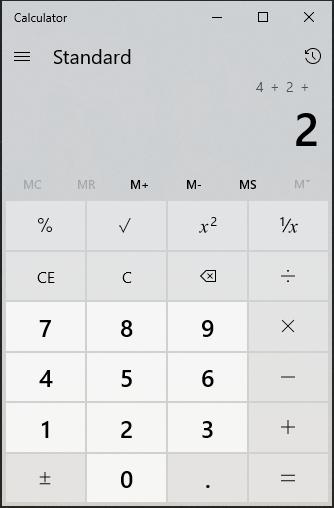 微软windows计算器